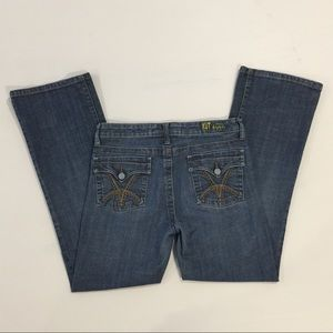 KUT FROM THE KLOTH Flap Pocket Bootcut Jeans